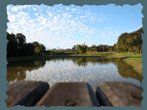 Gefühlschaos vor der Reise: Der See vom Hostel Natura