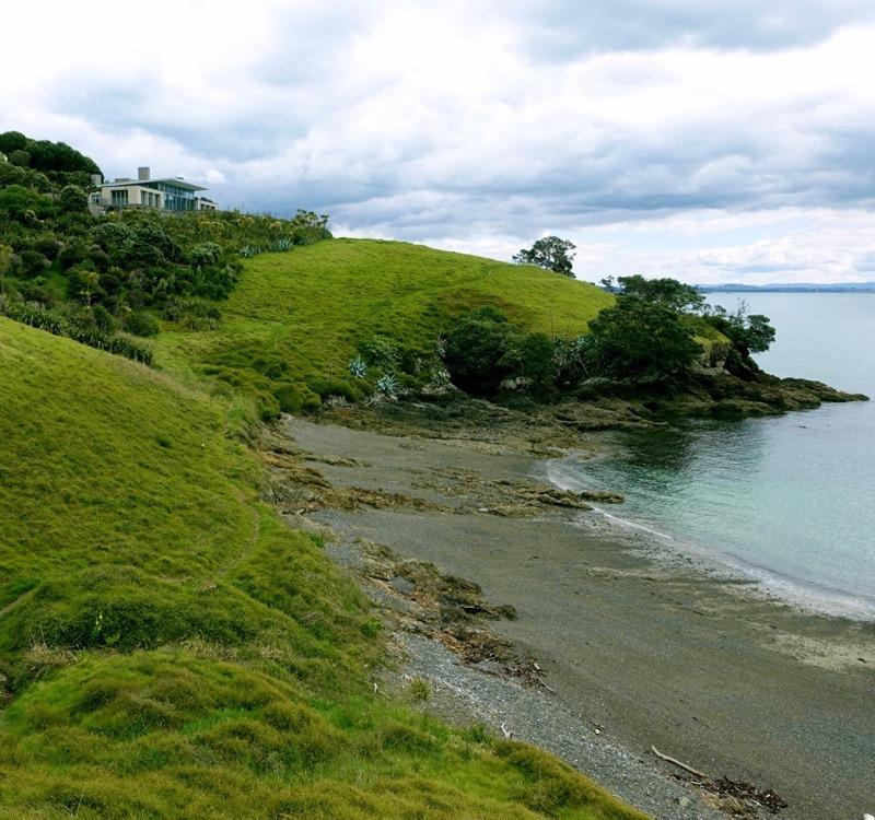 Ausblick auf Weiheke Island