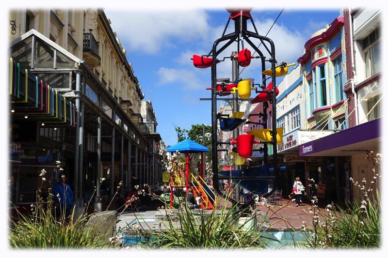 Cuba Street in Wellington