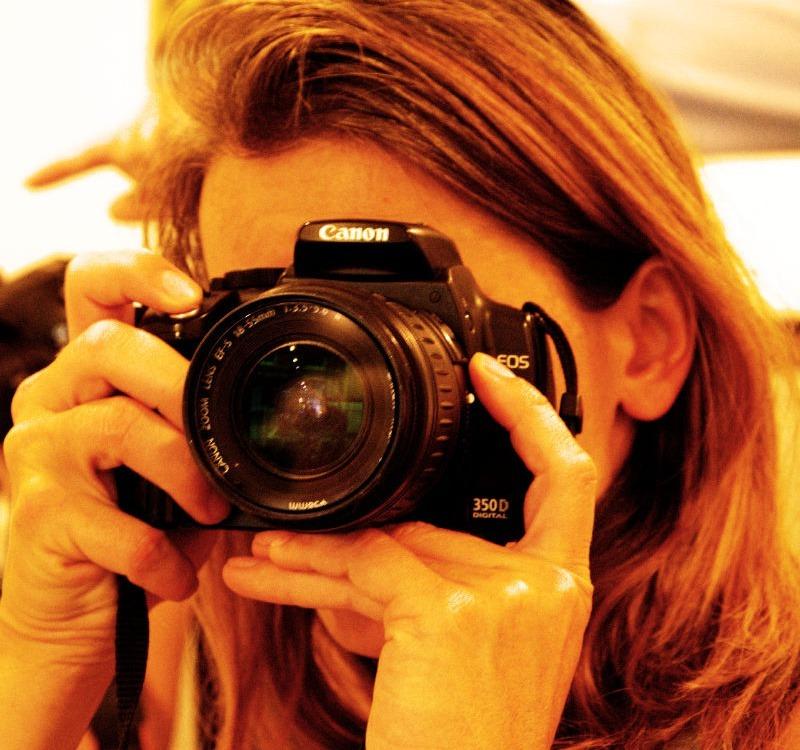 Ich mit der Kamera in der Hand