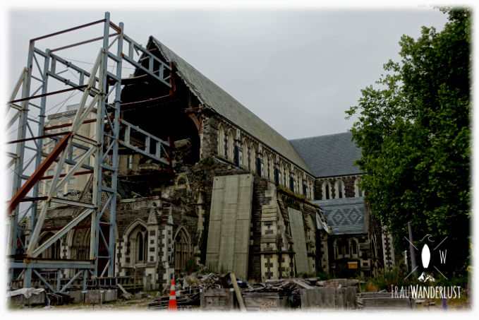 Die Kirche in Christchurch