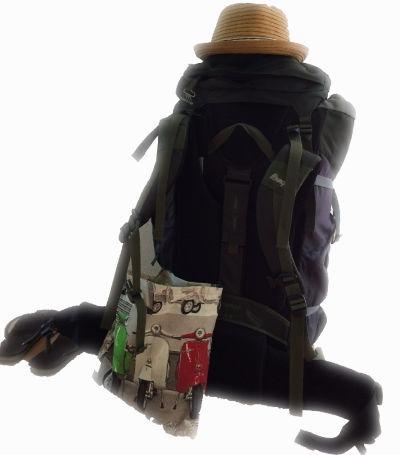 Rucksack auf Überraschungsreise