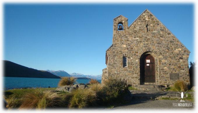 Kleine Kirche am Lake Tekapo