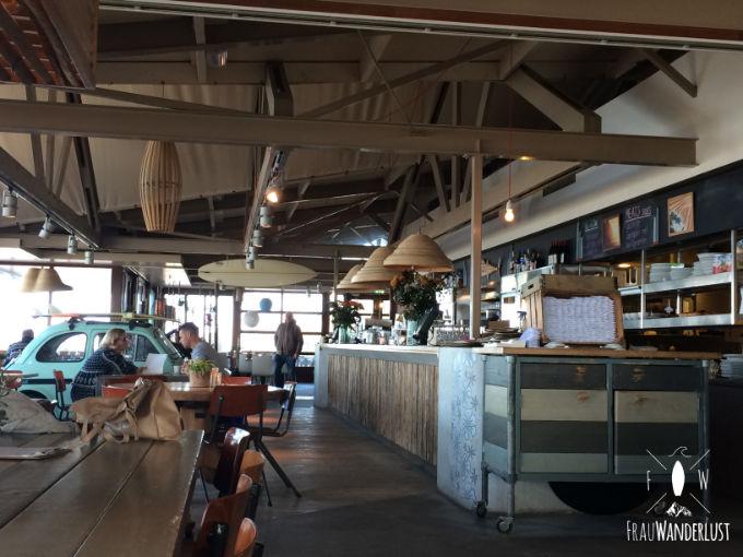 Tolles Café in Zandvoort