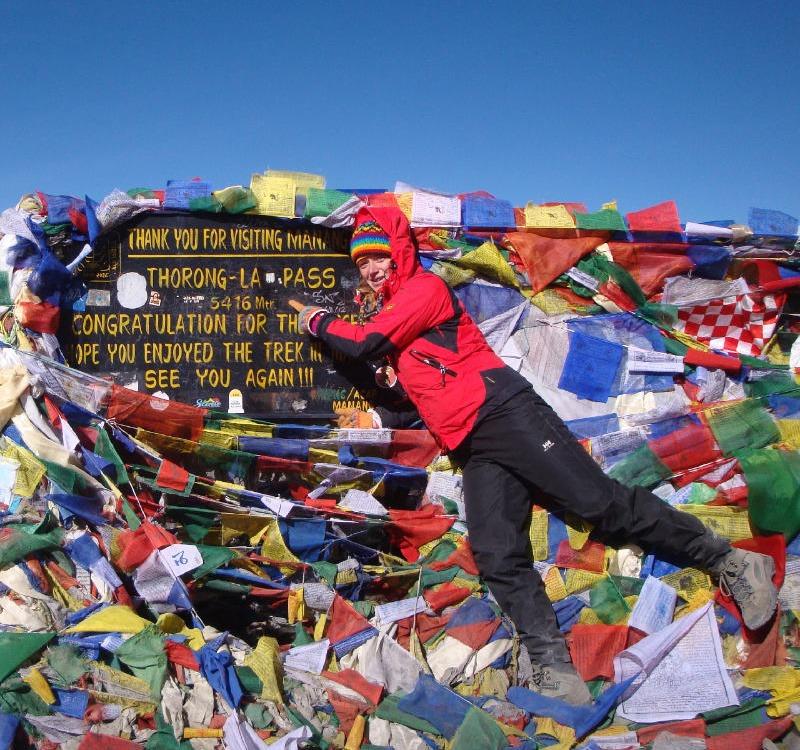 Ich stehe auf 5.416 Meter am Annapurna