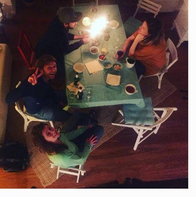 Freundschaft - gemeinsames Abendessen