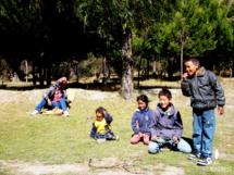 Ein paar Kids beim Spielen