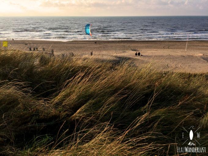 Der Strand in Zandvoort
