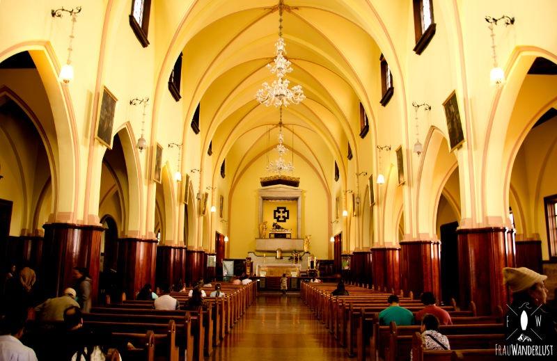 Bogotá: Kirche auf Monserrate