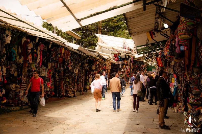 Bogoáa: Markt auf dem Monserrate