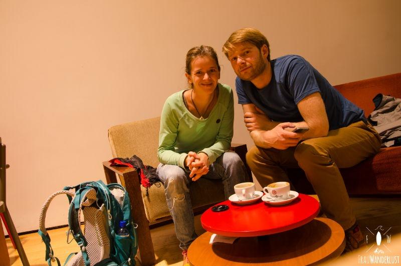 Bogotá: Café im Goldmuseum