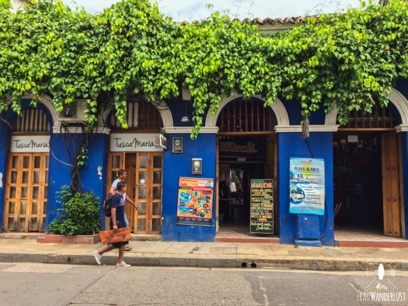 Cartagena: der Eingang zu MamaLlena