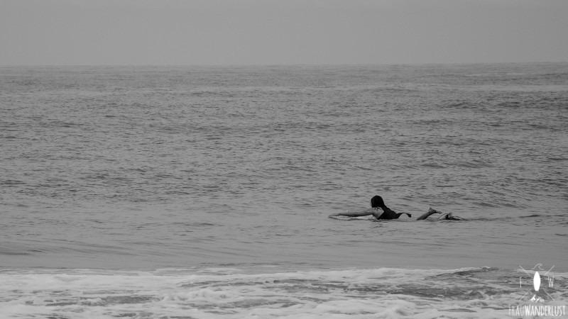 Norden Kolumbien: Surfen