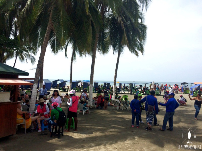 Norden Kolumbien Rodadero Strand