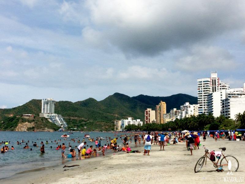 Norden Kolumbien: Strand in Santa Marta