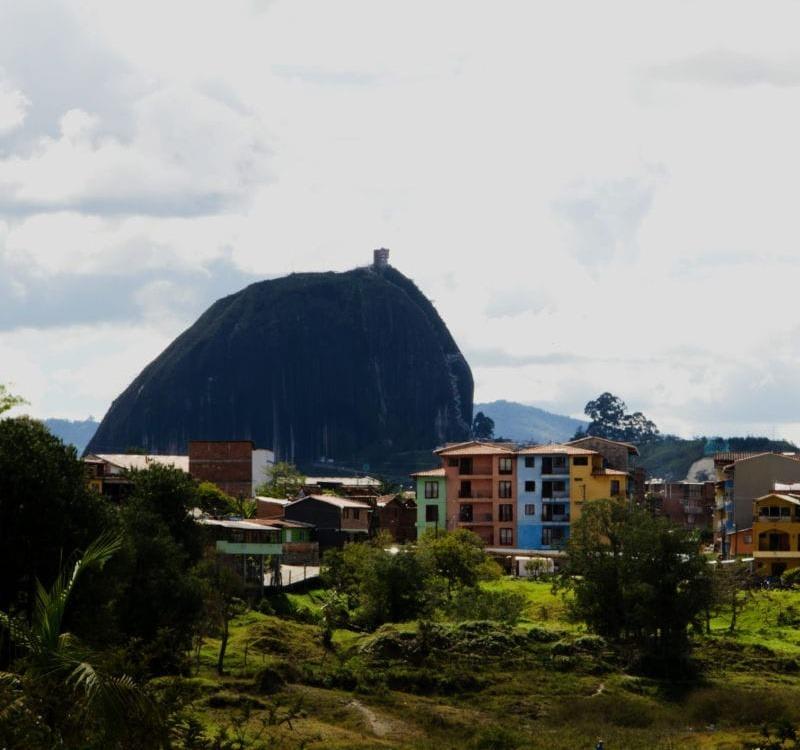 Spanisch lernen: Der Ausblick auf Guatape