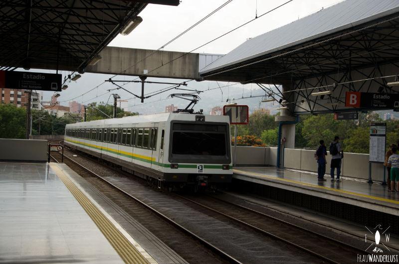 Glücklich sein: Metro in Medellín