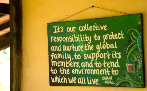 Glücklich sein - ein Zitat vom Dailai Lama