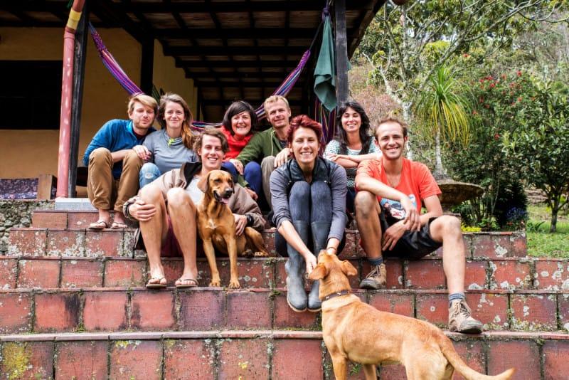 Spanisch lernen in Medellìn: die Truppe