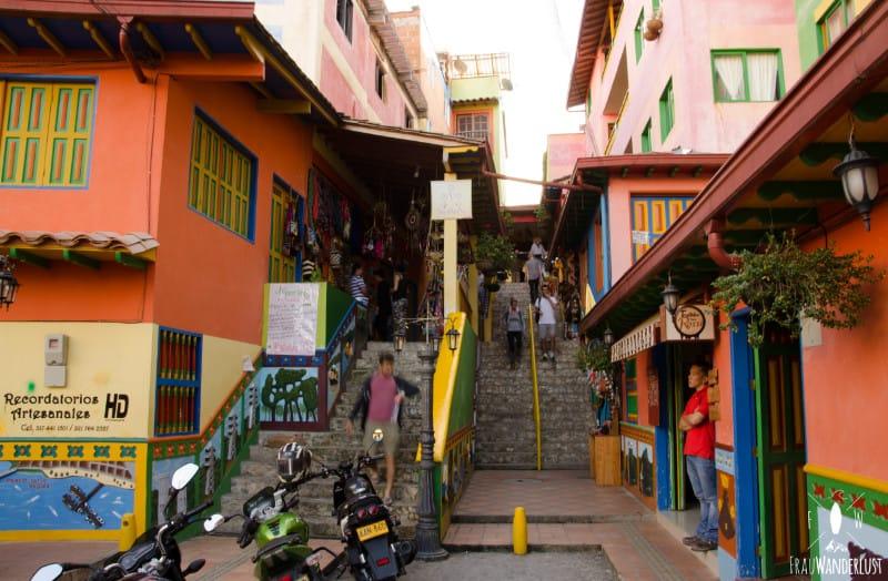 Spanisch lernen in Medellín: bunter Ort