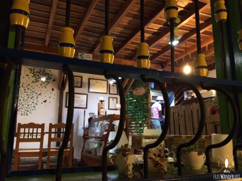 Salento; Blick in das Lokal