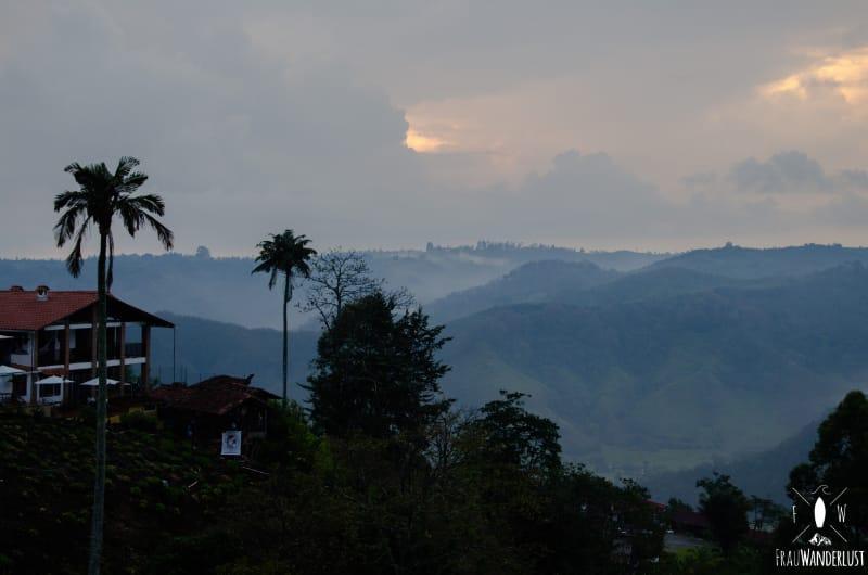 Salento; Sonnenuntergang im Mirador