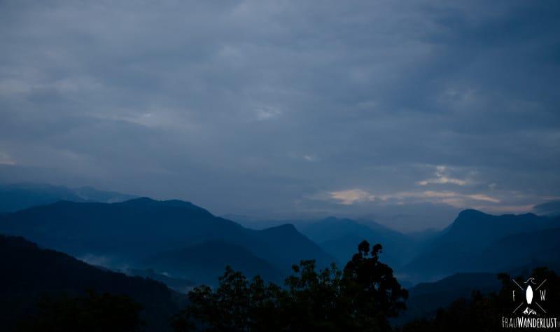 Salento; Sonnenuntergang im Mirador, die Zweite