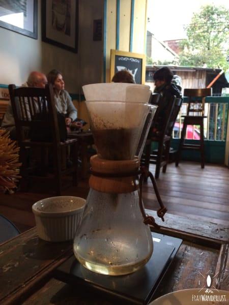 Salento; Chimex im Cafe Jesus Martin