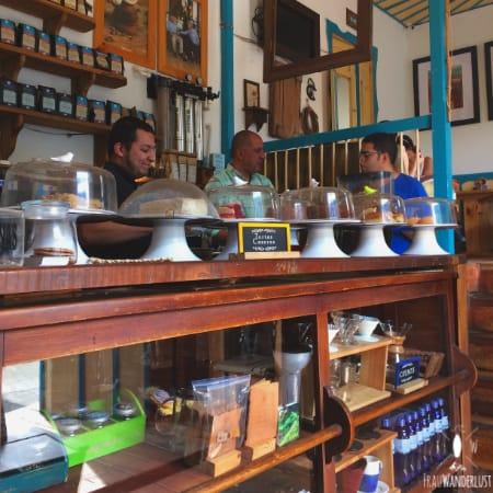 Salento; Das Cafe Jesus Martin