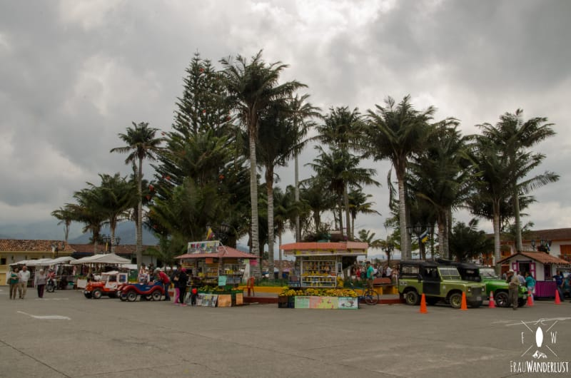 Salento; der Marktplatz