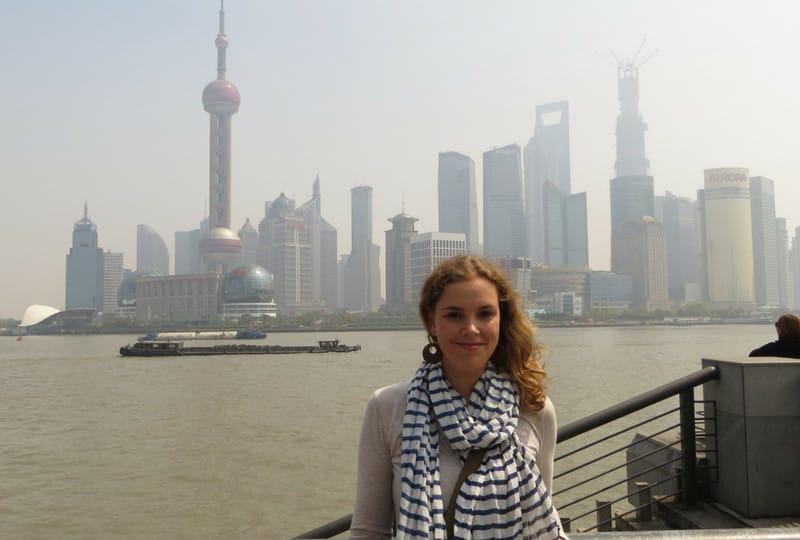 Job kündigen Weltreise: Treffen in Shanghai