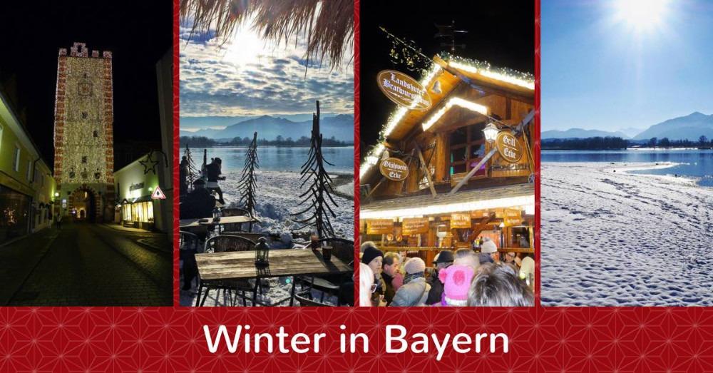Winter in Bayern und was er zu bieten hat