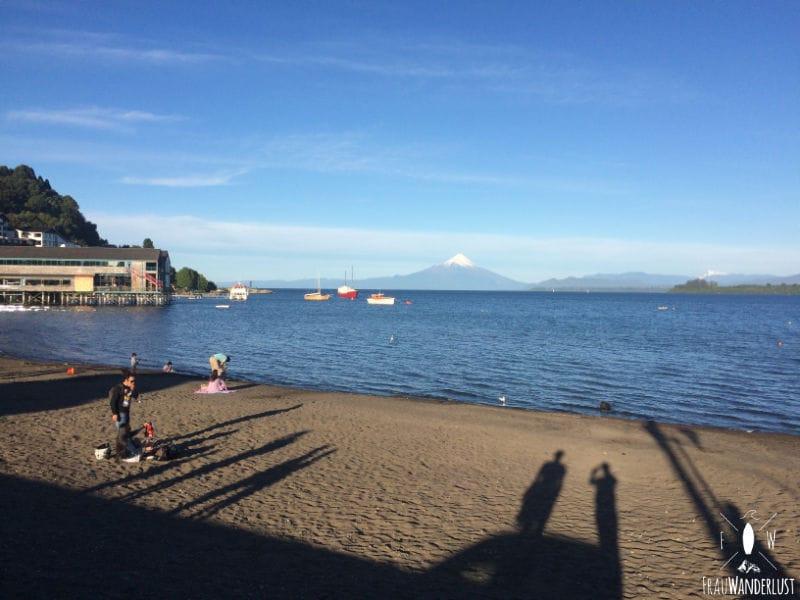 Puerto Varas: Strandpromenade am Tag