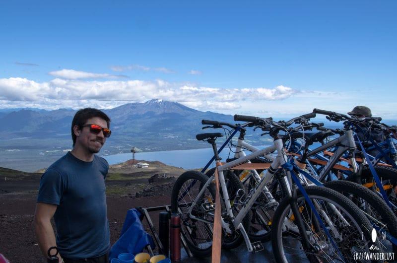 Puerto Varas unser Guide und die Fährräder