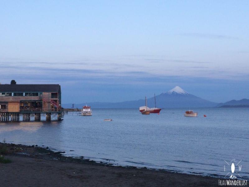Puerto Varas: Sonnenuntergang