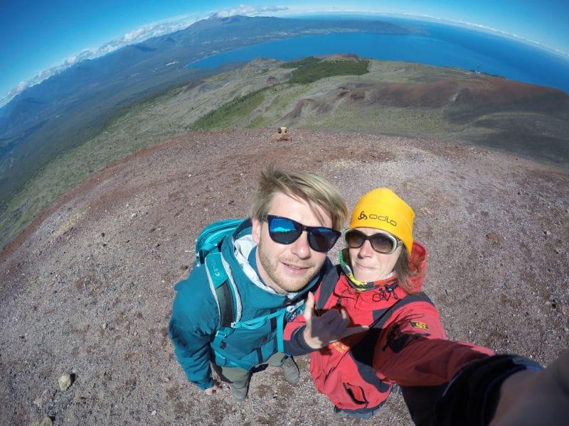 Puerto Varas: wir stehen auf dem Vulkan Osorno