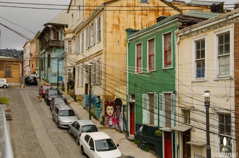 Valparaiso: Stadtbild