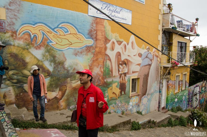 Valparaiso: Free Walking Tour