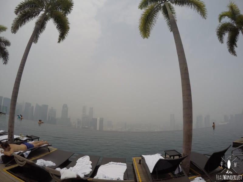 Unterkunft auf Reisen: Marina Bay Sands