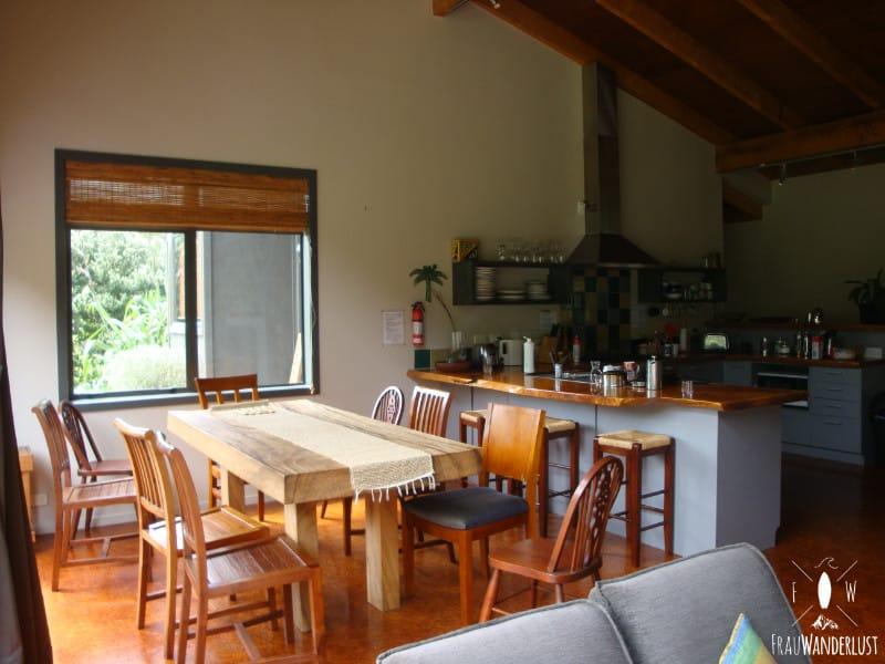 Unterkunft auf Reisen: Hostel-Küche