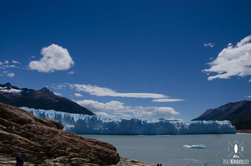 Ausblick auf den Perito Moreno Gletscher