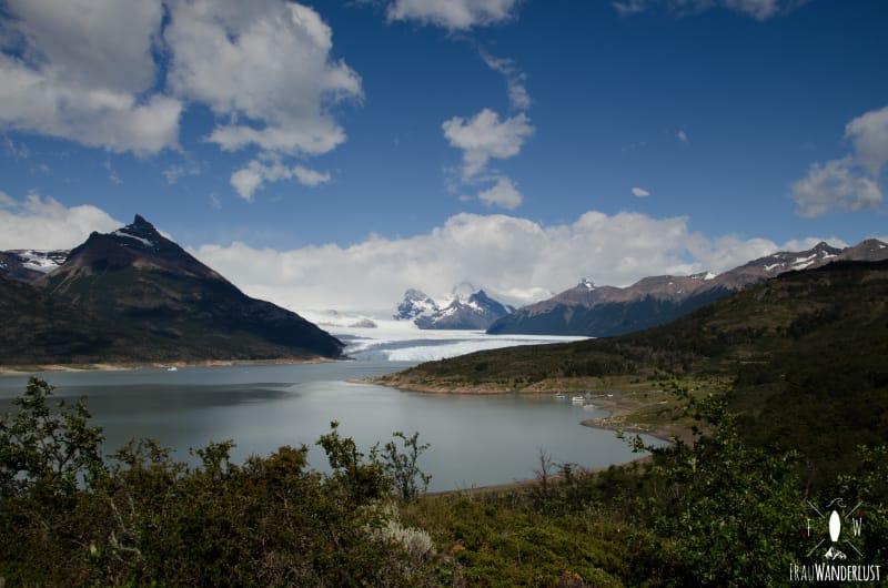 Patagonien auf eigene Faust: Ausblick auf den Grey Gletscher im Torres del Paine