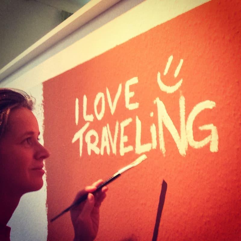 Sabbatical um zu reisen: Wohnung streichen