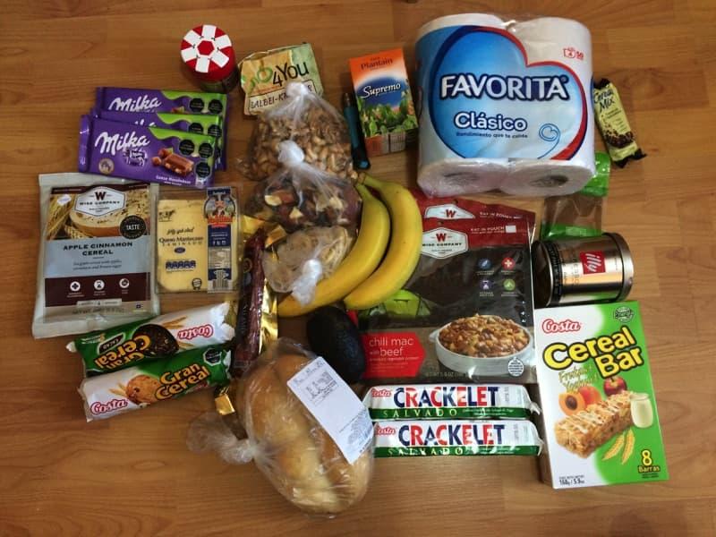 Torres del Paine für Anfänger: Essensration