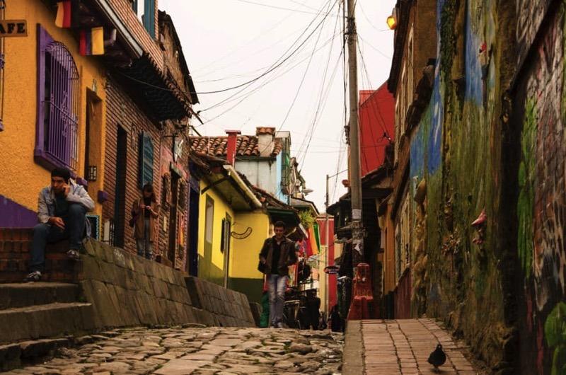 Weltreise: buntes Bogota