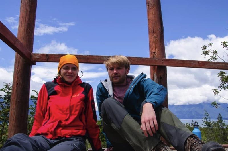Auf Weltreise: Wanderung in Chile