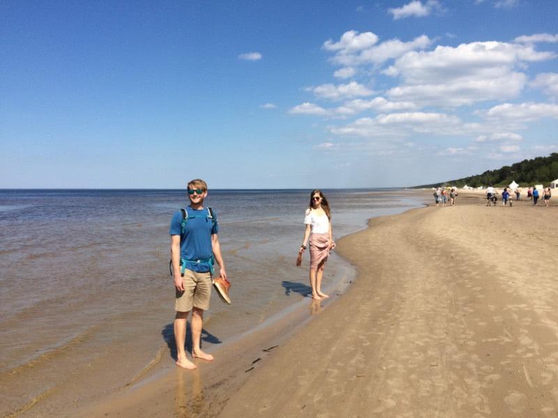 Hauptstadttour Riga am Strand