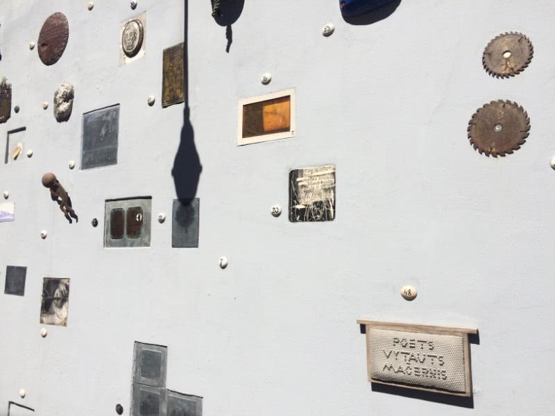 Haupstadttour Wand der Autoren Vilnius