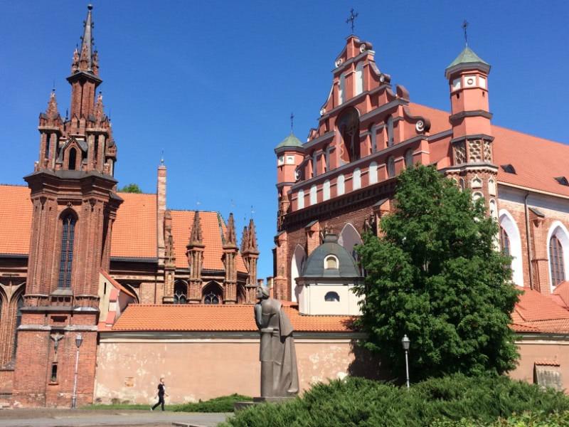Hauptstadttour Vilnius Kirche