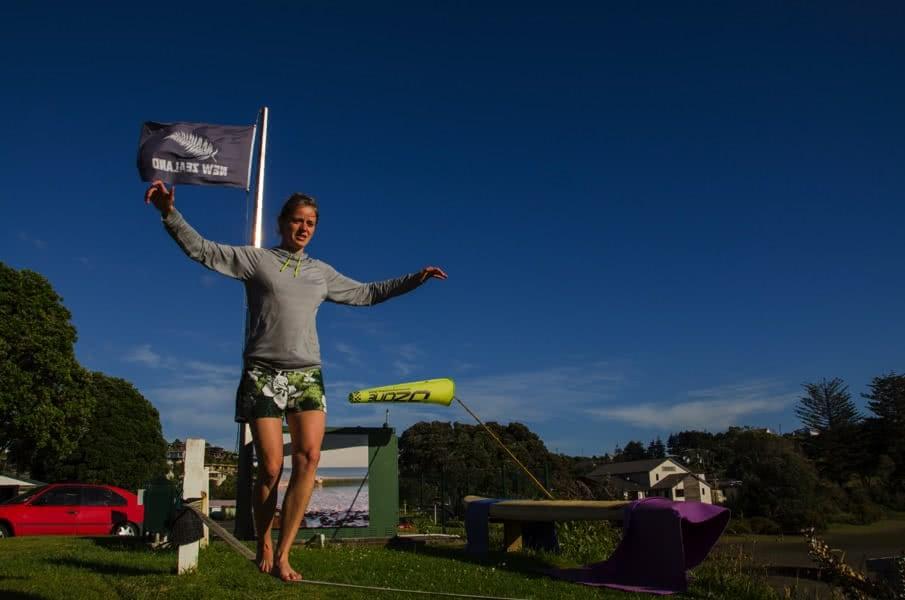 Surfen in Neuseeland: Entspannung nach dem Surfen